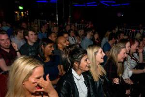The Comedy Loft Birmingham - Crowd at comedy club
