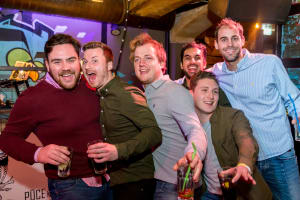 Riga Bar Crawls stag group