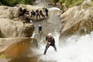 climbing coasteering and canyoning