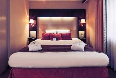 Merucre Budapest Korona - double bedroom