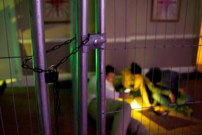 Prison break event