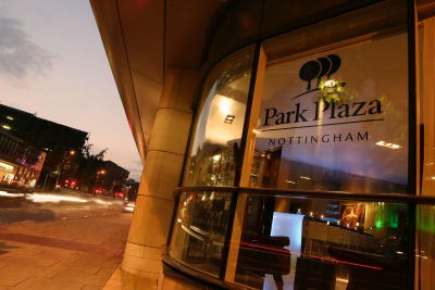 Park Plaza Hotel - Outside
