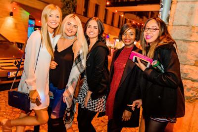 Hen Group, Bar Crawl, Chillisauce staff, Budapest