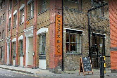 Tanner warehouse - exterior