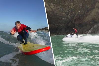 Jetski & Surf lesson Hen - Newquay