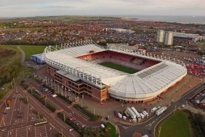 Stadium of light - exterior