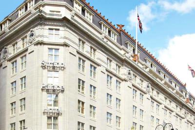strand palace hotel -exterior
