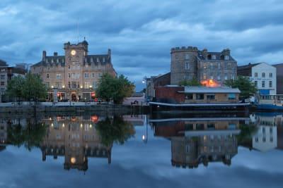 Exterior, Malmaison Edinburgh