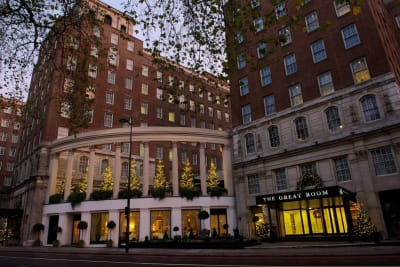 marriot london grosvenor hotel - exterior