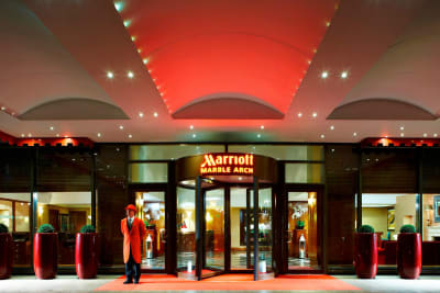Marriot London Marble Arch - exterior
