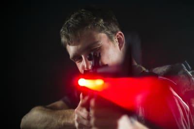 Laser tagging