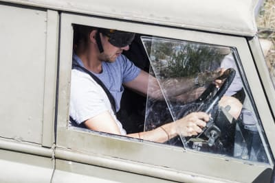 blindfold 4x4 driving