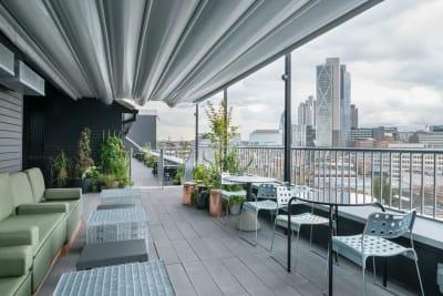 Ace Hotel Shoreditch - terrace