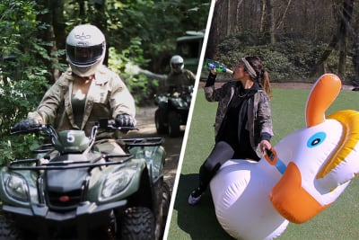 Inflatable Games and Quad Biking, Hen