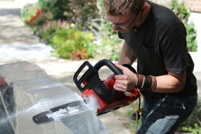 Ice sculpting workshop