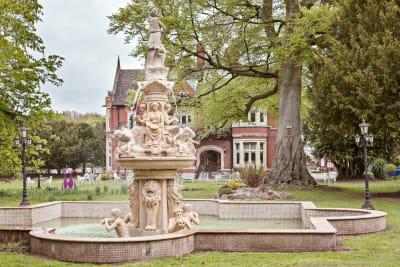 Fountain, Berwick Lodge