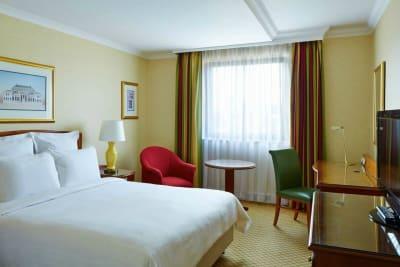 Liverpool Marriott - Bedroom