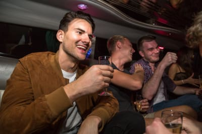 Hummer Limousine Airport transfer Stag Stripper- Budapest CHILLISAUCE