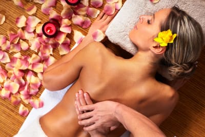 Spa and pampering session
