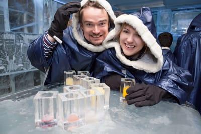 Ice Bar Couple