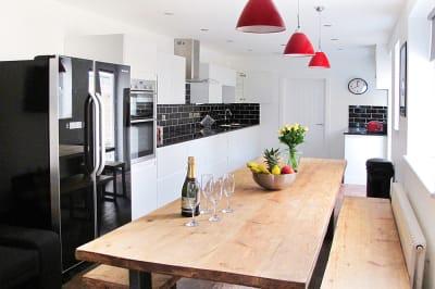 Zone 9 House kitchen