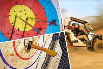 Multi Activity Day Archery, Knife & Axe Throwing