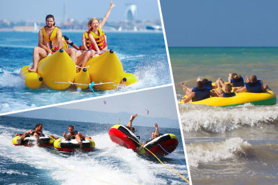 Ringo Ride, Banana Boat and The Tornado multi activity choice