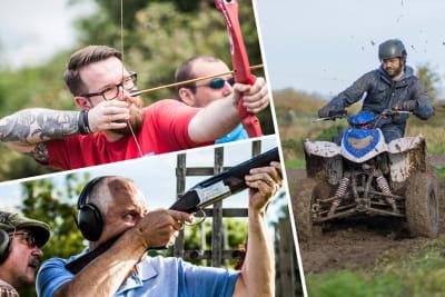 Multi activity day - Bristol shooting archery quad