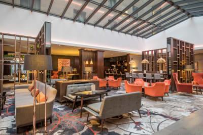 Clayton Hotel - Leopardstown lobby
