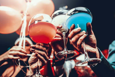 Drinks cheers cocktails