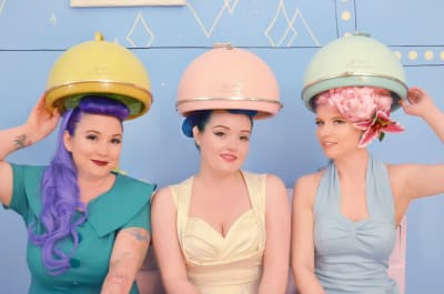 LA Vintage Day Out - Hair Makeover Le Keux events
