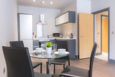 Dream Apartments - Water Street kitchen