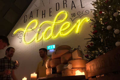 The Cider Box / Cider vs Cheese