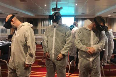 Virtual Reality Crime Scene Experience