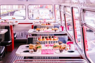 Brigit's Bus Afternoon Tea (deck/bus hire)