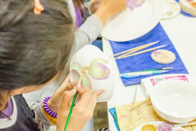 ceramic painting decoration