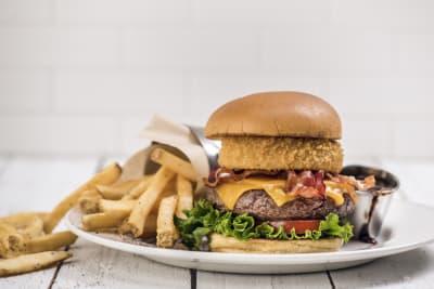 hard rock cafe Bar Meal - 3 Courses legendary burger