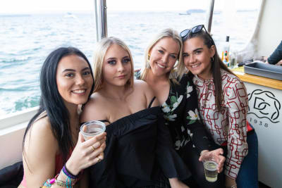 Cruise Boat Party Hen Group Bournemouth FAM Trip CHILLISAUCE