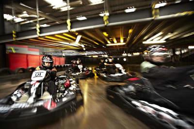 indoor go karting flip