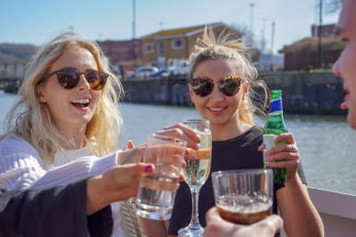 Bristol fam trip FLOWER OF BRISTOL Boat ride