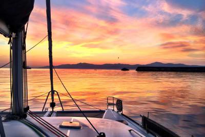 sunset catamaran experience
