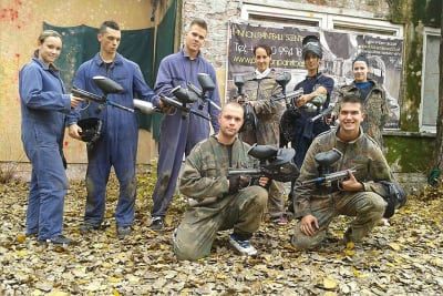 Airsoft - 1000 Bullets group
