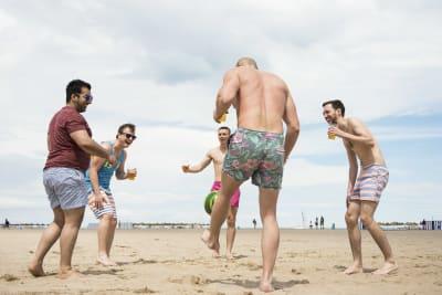 Stag Beach Games chilli fam valencia trip