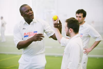Play With A Cricket Legend
