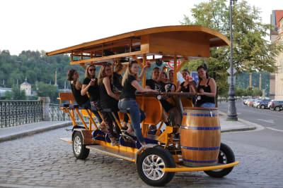 Beer Bikes Prague  Hen Group
