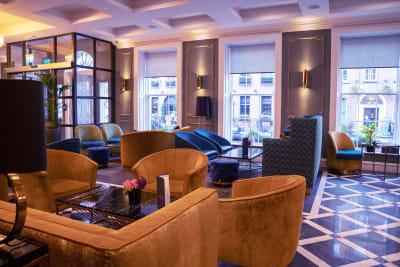 The Iveagh Garden Hotel lobby