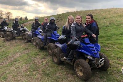 Yorkshire Activity Centre quad bikes