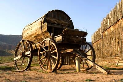 Gold Rush Horse Cart