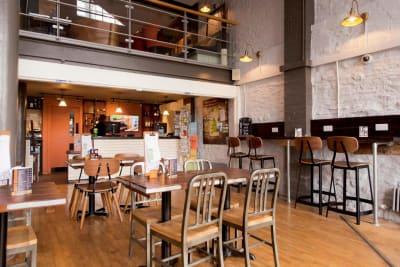 YHA Bristol Bar Area
