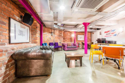 YHA Liverpool Central lounge Area